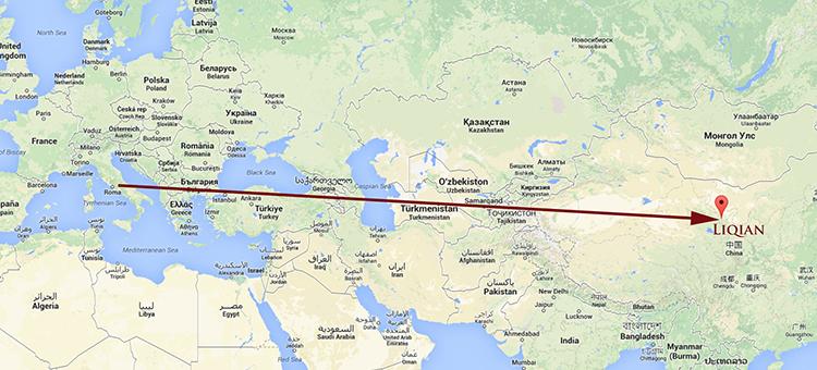 Liqian-Yongchang-Jinchang-Gansu-Google-Maps